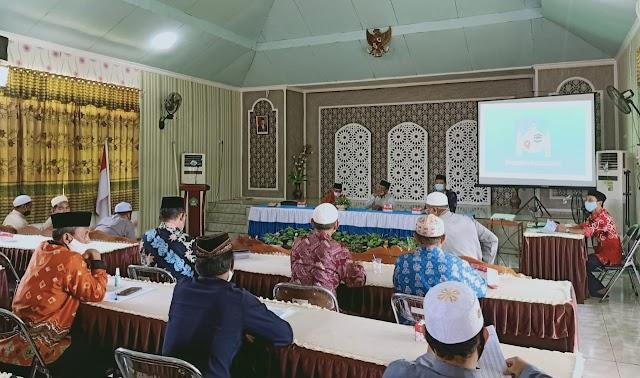 Kemenag Kapuas Sosialisasi SE Menag RI tentang Panduan Ibadah Ramadan 1442 Hijriah