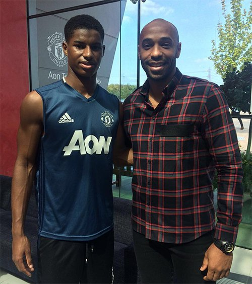 ¿Cuánto mide Marcus Rashford? - Altura - Real height Rashfordhenry