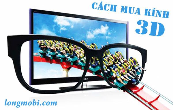 Cách mua kính 3D xem phim