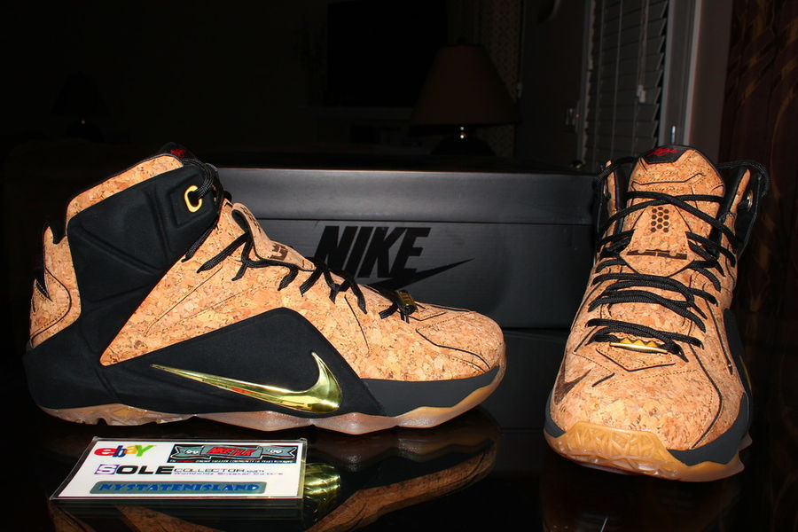 premium selection 33969 3c7c9 ... LeBron 12 EXT Cork is Coming and Its About to Take on the Legend ...