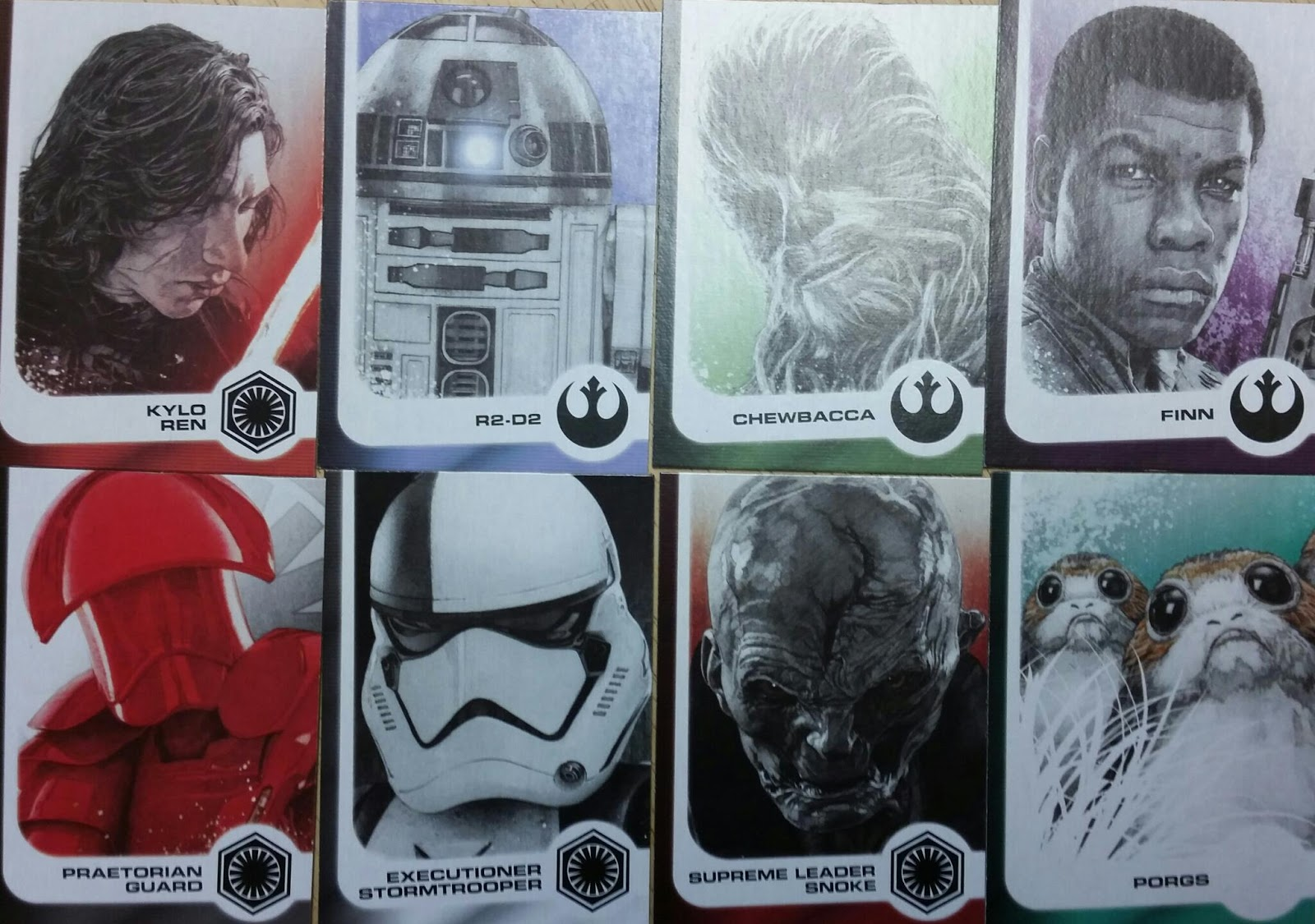 Star Wars Journey To The Last Jedi Character Chase Card #3 Executioner Stormtro