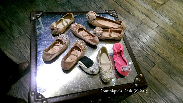 A selection of shoes that Tiger girl tried out at Pazzion @Wisma Atrium
