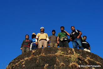 Photo: Unnecessary Hikers on Chilan Darvaja on Torana....