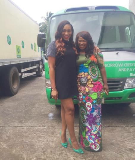 Lovely photos of Uche Jombo and Ebube Nwagbo