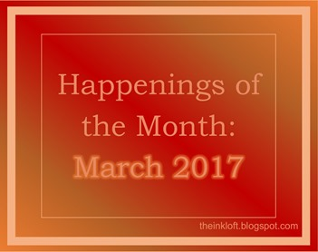 Happenings of the Month March 2017