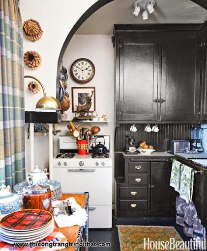 Những thiết kế thông minh cho nhà bếp nhỏ hẹp - <strong><em>Thiết kế nội thất</em></strong>-7