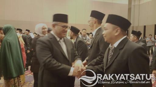 Resmi Dilantik, Risal Randa Kembali Menjabat Ketua KPU Tana Toraja