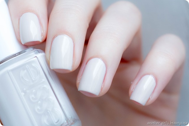 LFB beige essie bridal between the seats swatch-3