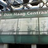 Den Haag Centraal in Den Haag, Zuid Holland, Netherlands