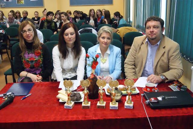 od lewej: organizator Beata Zajdel, jury:  Małgorzata Lasek-Such, Edyta Dydo, Norbert Jurczyk