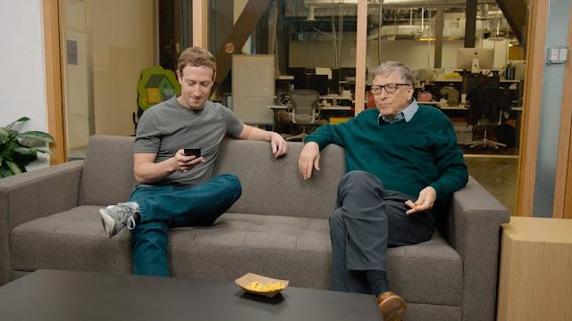 "'Bill Gates Was My Hero, While Growing Up"", Facebook Founder Mark Zuckerberg Reveals"