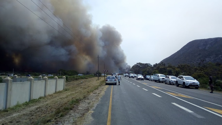 The R43 between Masakhane and Franskraal was closed on Friday January 11 2019.