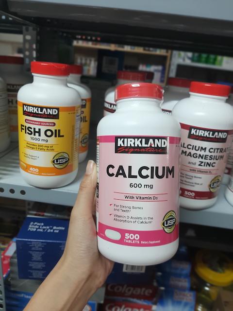 Uống Hỗ Trợ Xương Khớp Calcium 600mg With Vitamin D