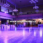Radiopalác, Velký sál připravený na ples
