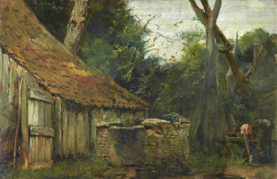 Matthijs Maris - The Mill.