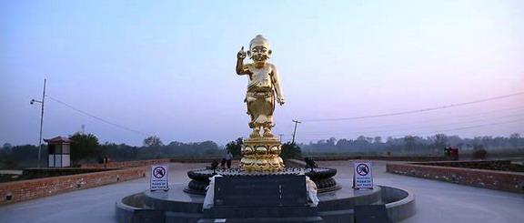 Một cái nôi sang trọng cho Đức Phật
