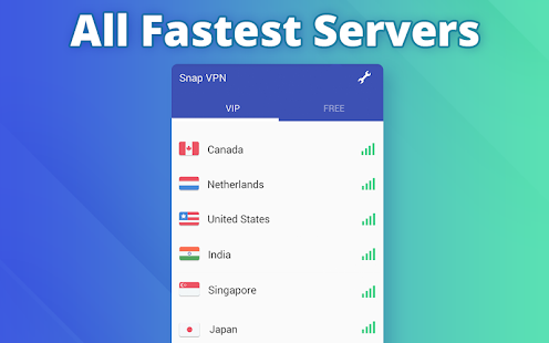 Free VPN proxy by Snap VPN- screenshot thumbnail