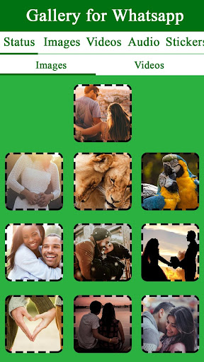 Gallery for Whatsapp - Images - Videos - Status screenshots 2