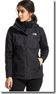 The North Face 3 in 1 waterproof jacket