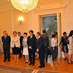 Obisk cesarskega para Akishino - Srečanje s študenti japonologije