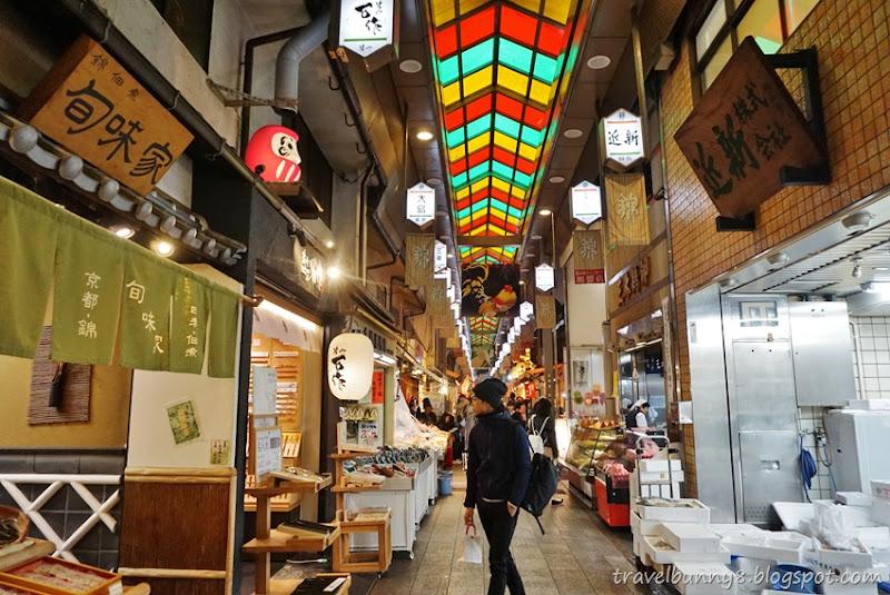 Travel Bunny Japan Kyoto A Walk Through Nishiki Market