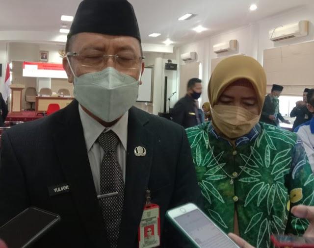 Yuliansyah Resmi Gantikan Akhriani sebagai Pjs Sekretaris Daerah Pemkab Balangan