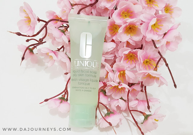[Review] Clinique Liquid Facial Soap for Combination to Oily Skin
