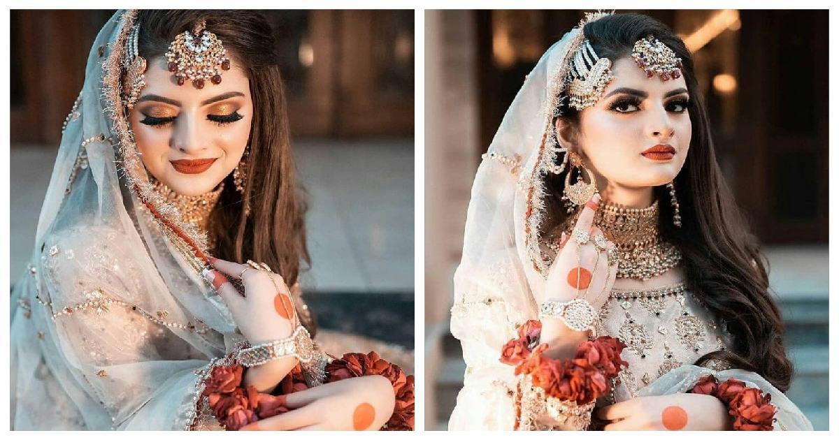 Muzna Malik Bridal Photo Shoot