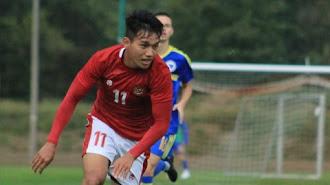 Gol Witan Sulaeman Bawa Timnas Indonesia U-19 Kalahkan Dinamo Zagreb
