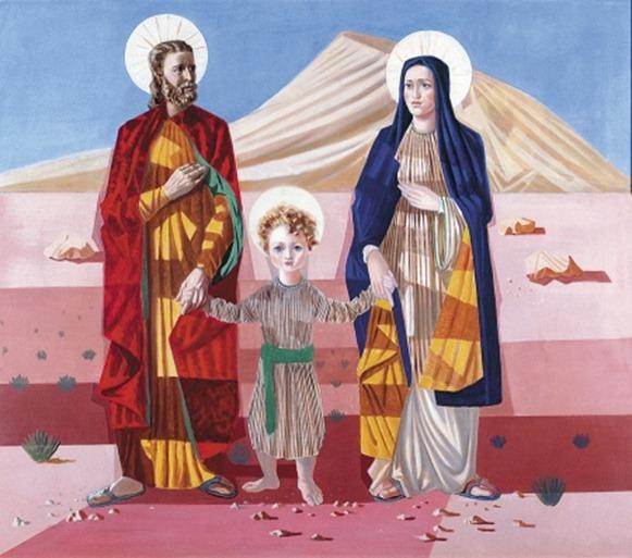 Sagrada-Família - Candido Portinari