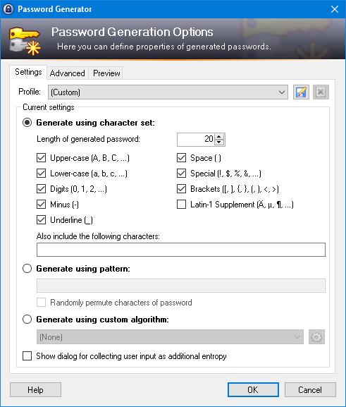 برنامج مجاني لإدارة وحفظ كلمات المرور تلقائياً وتصديرها KeePass 2.47
