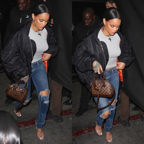 Rihanna's wearing Citizens of Humanity