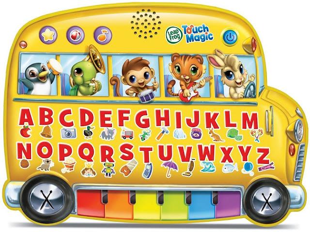 Xe Buýt vui nhộn LeapFrog Touch Magic Learning Bus thiết kế sinh động