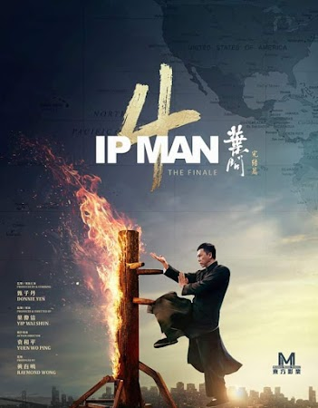 Poster Of Ip Man 4: The Finale Full Movie in Hindi HD Free download Watch Online 720P HD