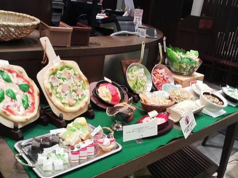 料理サンプル 太陽のごちそうイオンモール大垣店