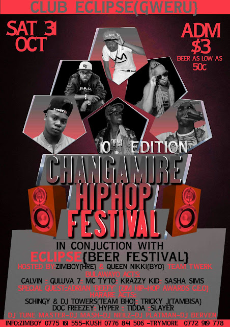 Changamire Hip Hop festival records success in Gweru