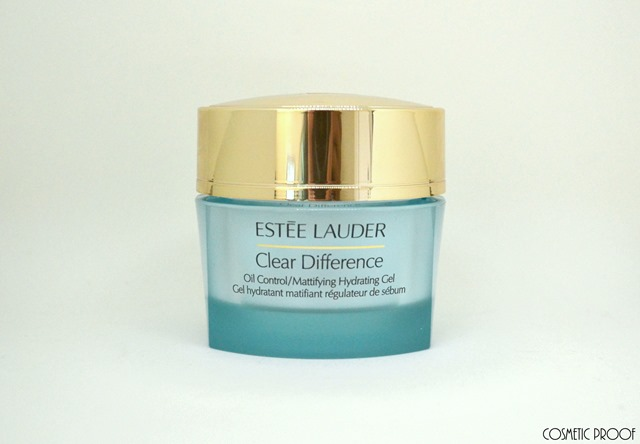 Estee Lauder Clear Difference Oil Control Hydrating Gel Review