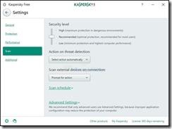 برنامج أنتى فيرس مجانى Kaspersky Free 18.0.0.405 للويندوز أحدث إصدار 2017 -2