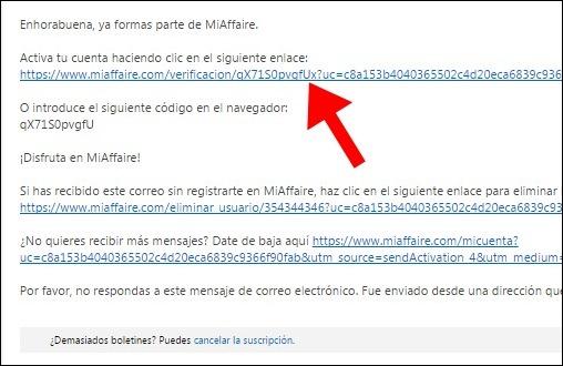 Abrir mi cuenta MiAffaire - 632