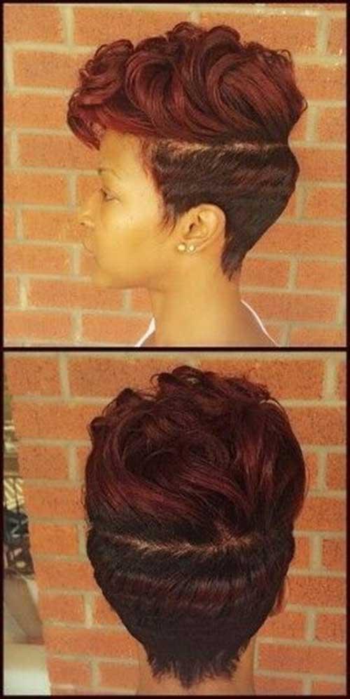 Super Finger Waves Cute Short Hairstyle For Females Fashion Qe Short Hairstyles Gunalazisus