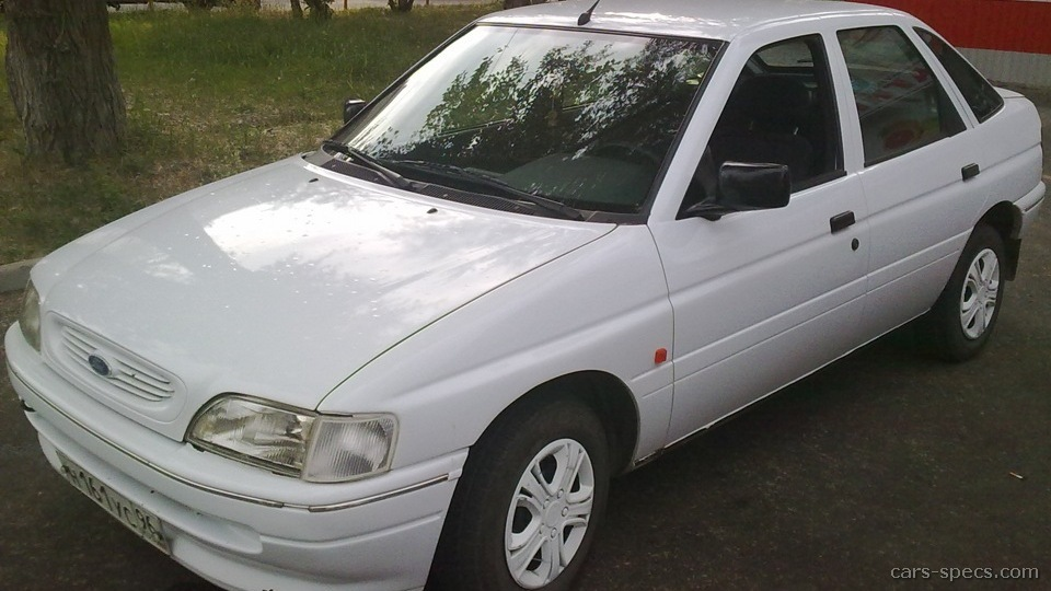 1992 ford escort hatchback specifications pictures prices. Black Bedroom Furniture Sets. Home Design Ideas