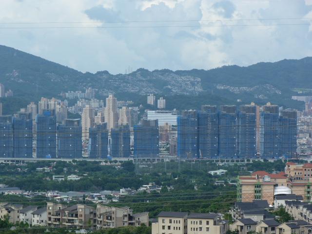 TAIWAN .TAIPEI.Ankeng puis Taipei SIJHIHLe typhon est la, je ne vais donc pas trop loin - P1080935.JPG