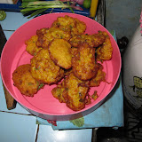Corn fritters (perkedel jagung)
