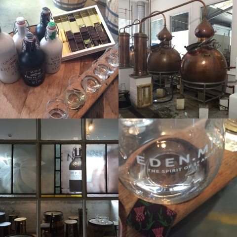 Eden Mill Brewery & Distillery, #LoveFife Chocolate, Seafood and Gin in the East Neuk