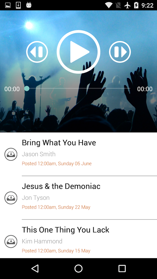 CityLife Church- screenshot