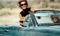 thelma and louise in a convertable