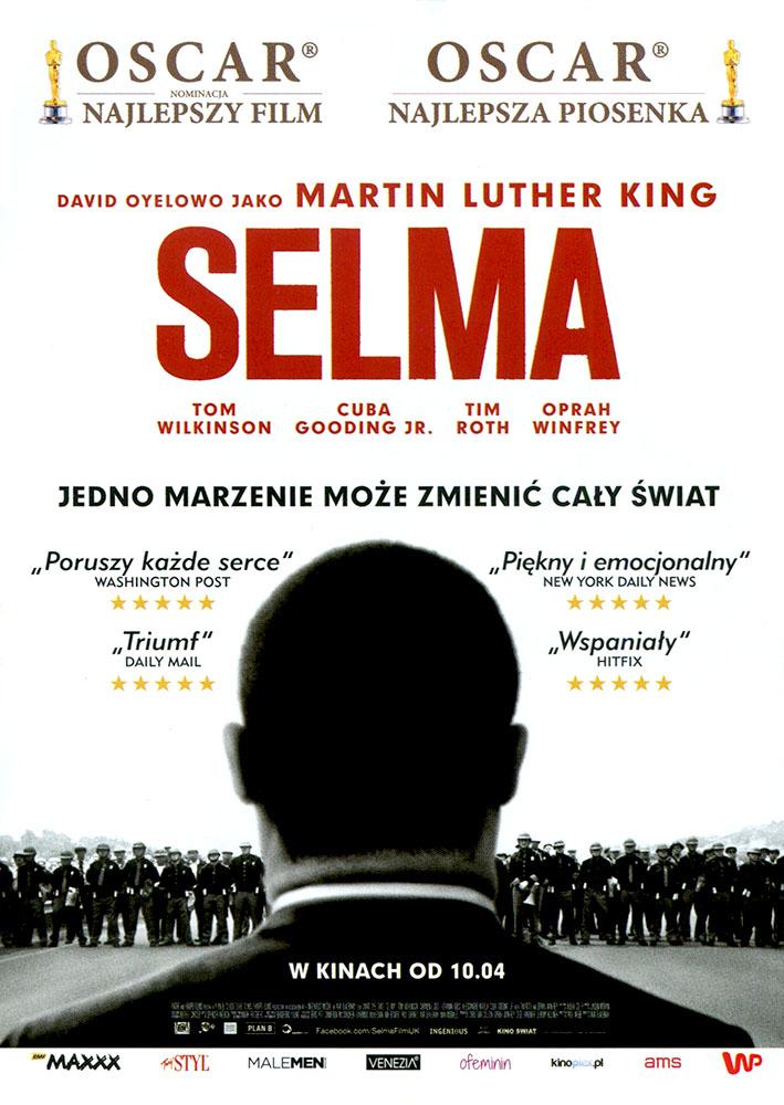 Ulotka filmu 'Selma (przód - wersja B)'