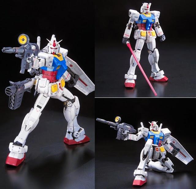 RX-78-2 Gundam RG 1/144 chất lượng bố trí màu sắc chưa từng có