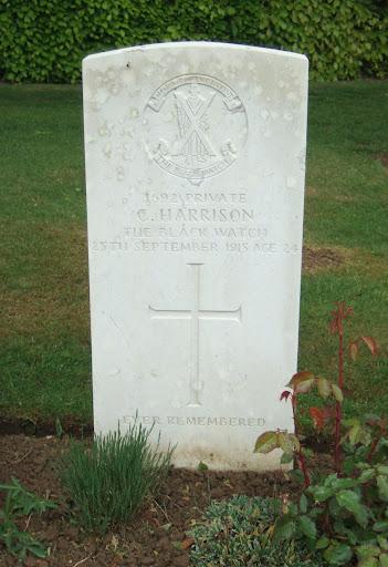 Charles C Harrison grave
