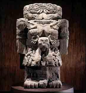 Goddess Coatlicue Image